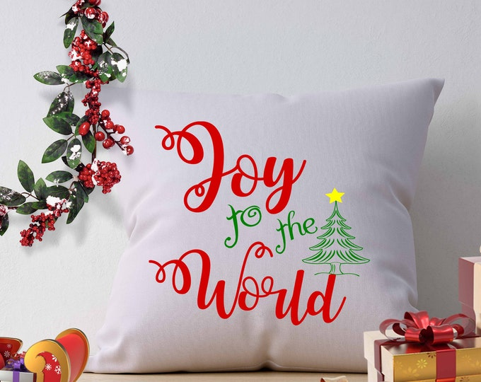 Joy to the World SVG EPS Png Dxf, Cricut Design Space, Silhouette   Studio, Digital Cut Files Instant Download