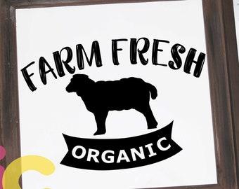 Kitchen svg Farm SVG, lamb SVG, Country farm fresh svg, farm svg, farm signs Svg, Eps, Dxf, Png cricut silhouette sublimation