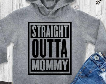 Straight Outta Mommy SVG, Straight Outta svgCut Files For Cutting Machines like Cricut Design Space and Silhouette Studio.  Iron on