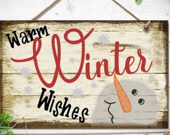 Snowman SVG, Warm Winter Wishes, Mittens Snowflake christmas svg, winter svg, SVG Cut File, digital file cricut silhouette Clip art design