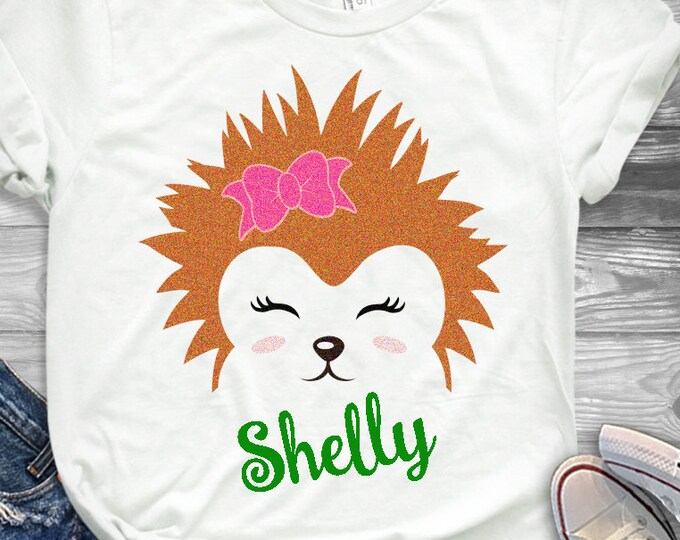 Hedgehog svg, Hedgehog Eyelashes Face Svg, Animal Porcupine, Woodland animal, SVG, DXF, EPS Hedgehog, girls unicorn svg, Cricut, Silhouette