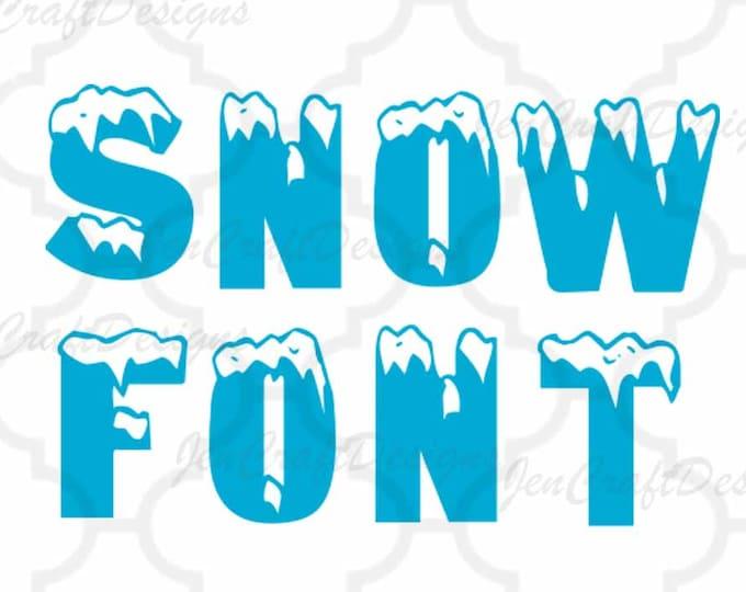 Fonts and Split Alphabet - JenCraft Designs