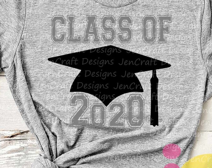 School Class of 2020 svg, Distressed  grunge Graduation SVG, High School svg Graduation svg, Graduate Grad Cap Eps Dxf Png Sublimation