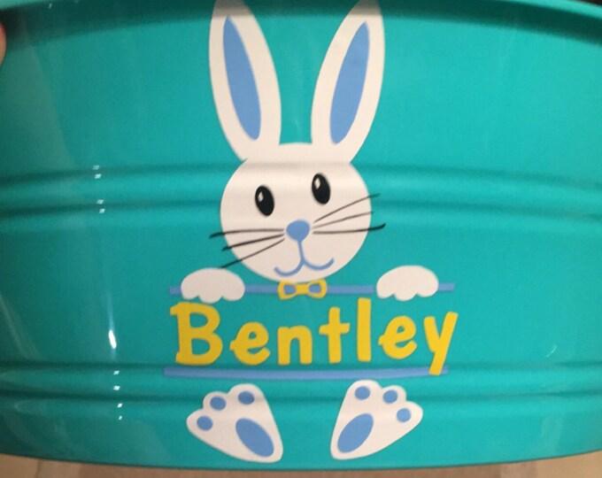 Easter Svg, Boy Easter Bunny Svg, Easter Split Svg, Easter Monogram Svg, Bunny Svg, Silhouette Cut Files, Cricut Cut Files, Svg Files