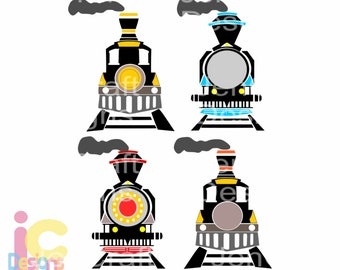 Train svg Monogram frame SVG, Birthday Party Steam engine Boy SVG, vector design cricut, silhouette Digital Design svg, eps, dxf, png