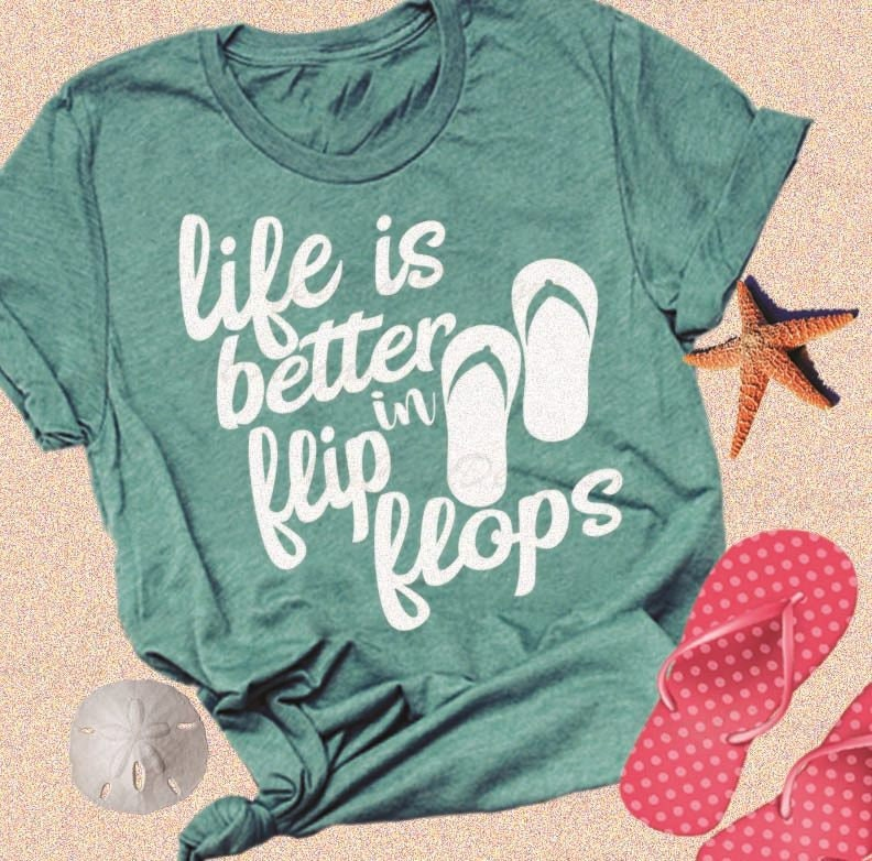 44346ca1294c3 ... Life is Better in Flip Flops SVG