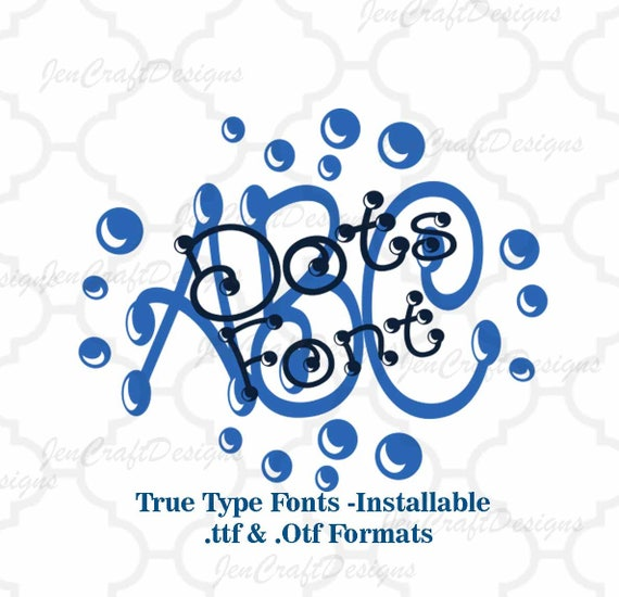 how to create ttf font