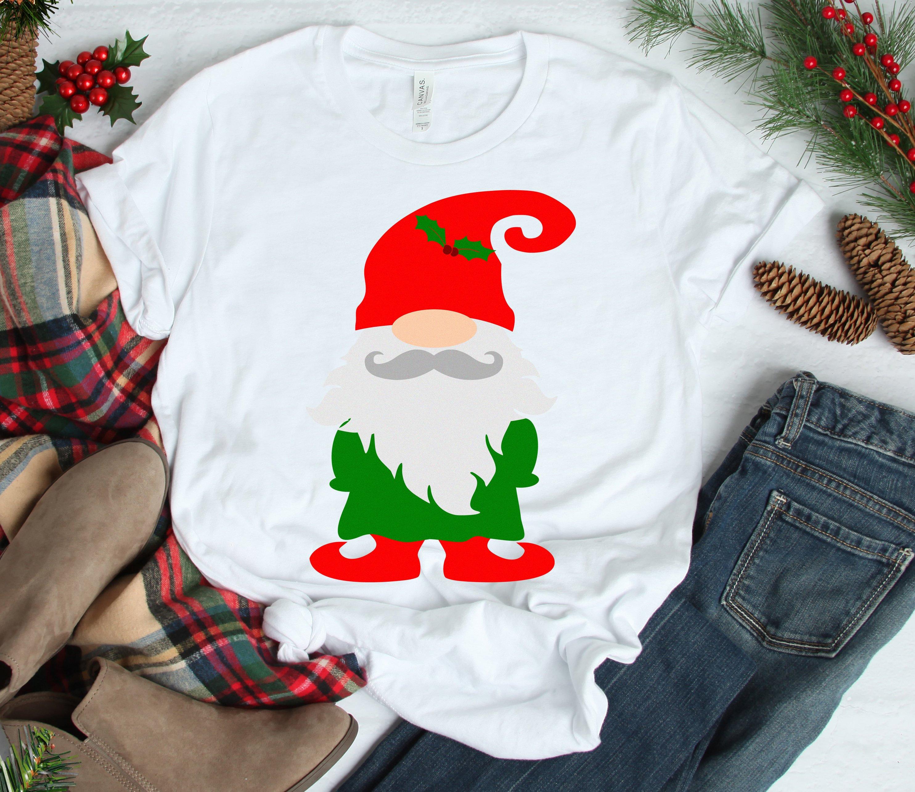 Christmas Gnomes Clipart.Christmas Gnome Svg Christmas Svg Christmas Elf Gnome