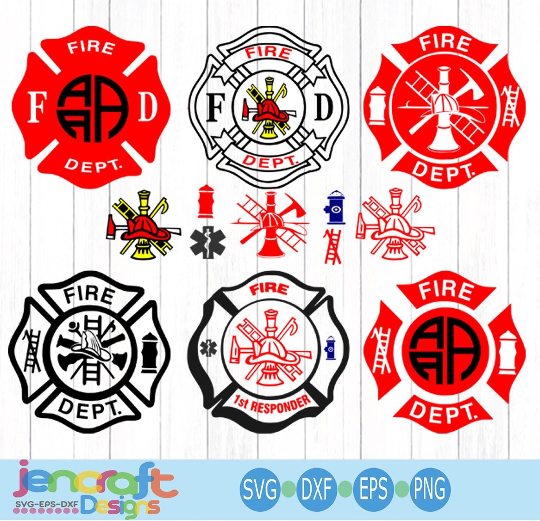 Fireman SVG, Firefighter svg EMT Svg, emergency responder