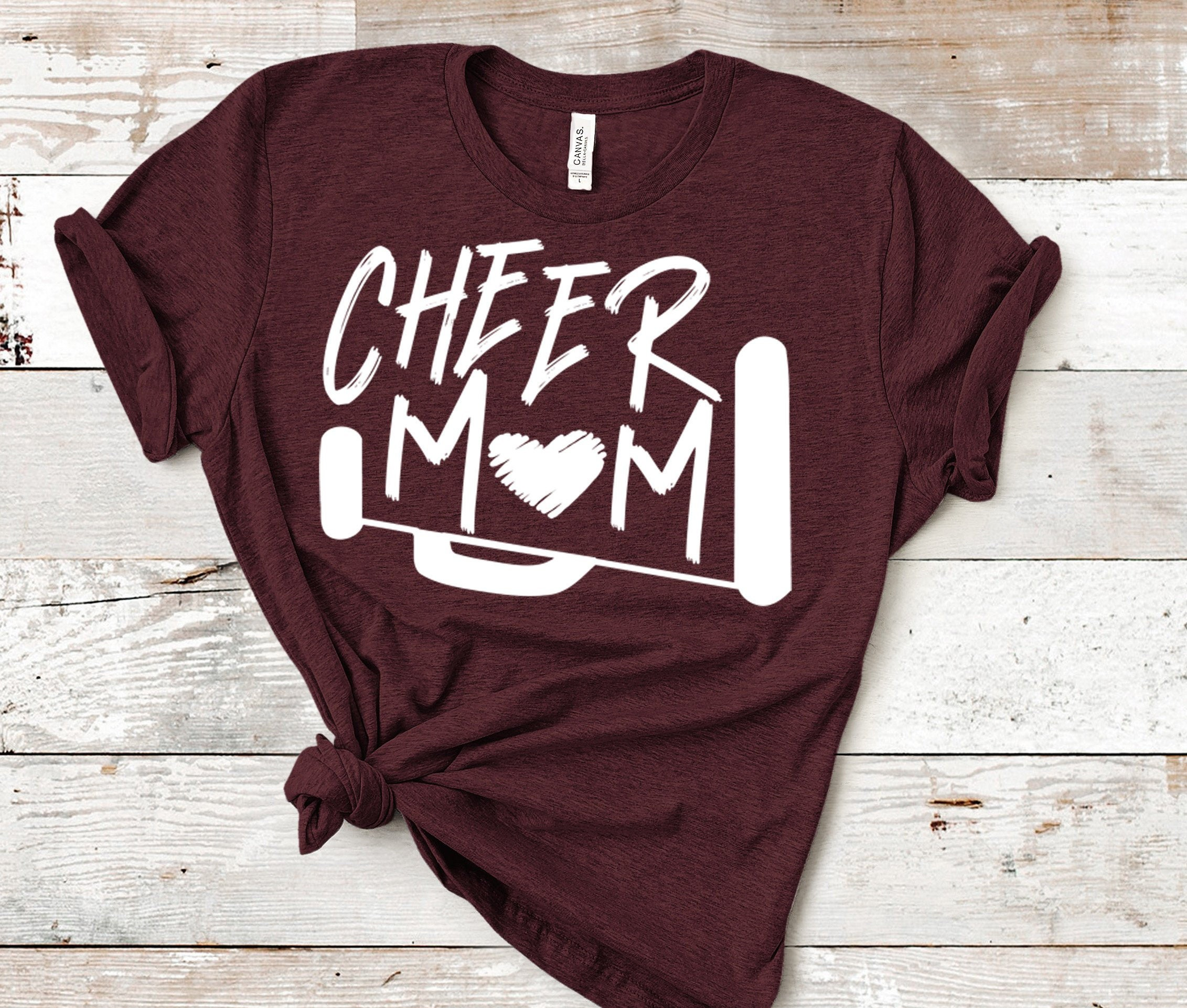 Cheer Mom Svg Cheer Svg Biggest Fan Megaphone Svg Coach Cheer Svg Design Cut File Cheerleader Clipart Eps Dxf Png Cricut Silhouette