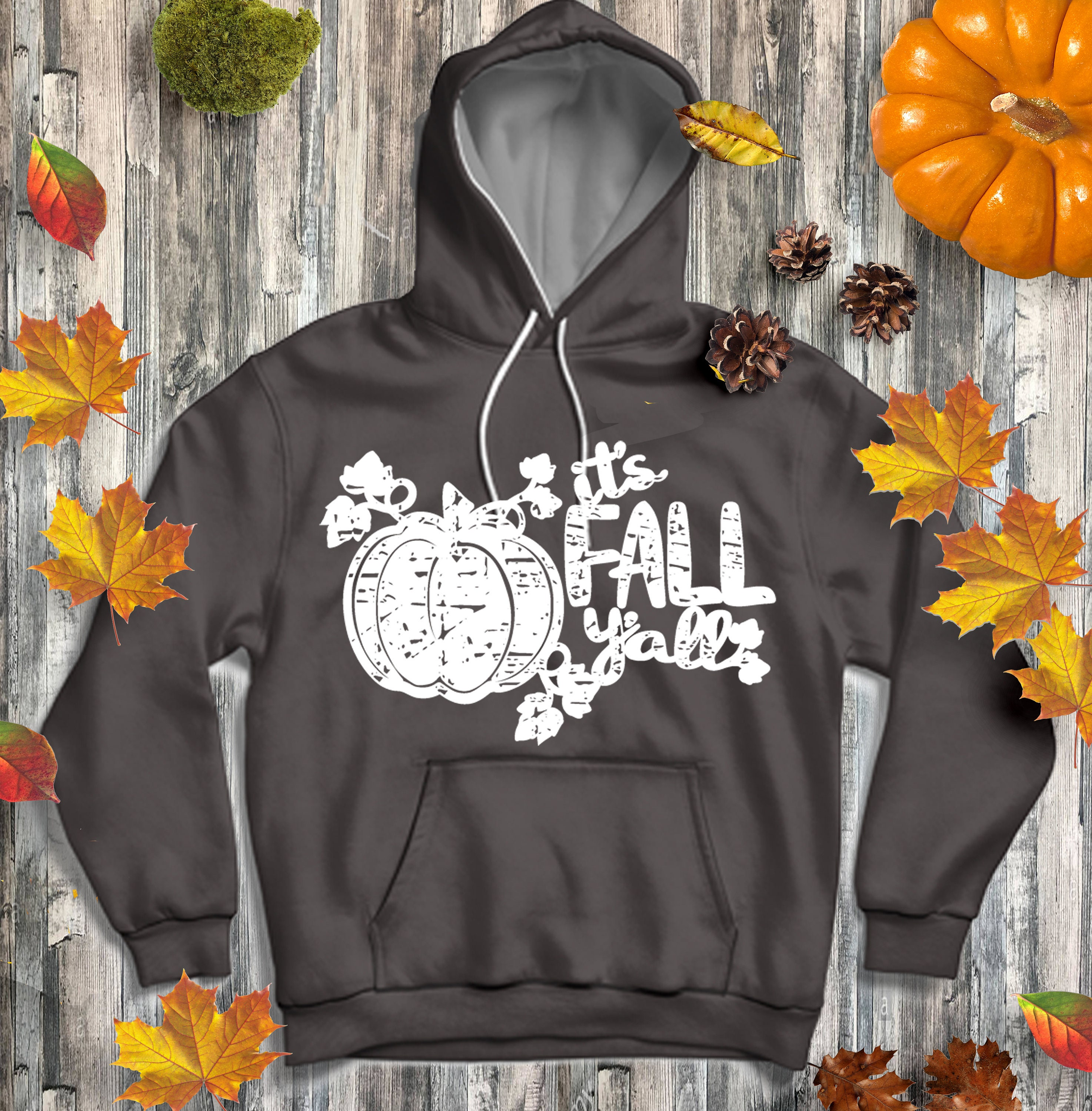 It S Fall Y All Pumpkin Svg Autumn Distressed Grunge Svg Classic Truck Svg Cut File Dxf Eps Png For Silhouette Cricut Digital Cut Files