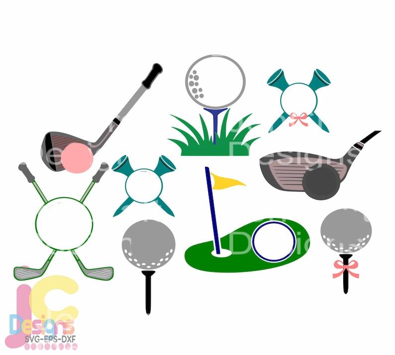 Download Golf SVG Monogram Golf ball svg Putter svg Golf tee svg   Etsy