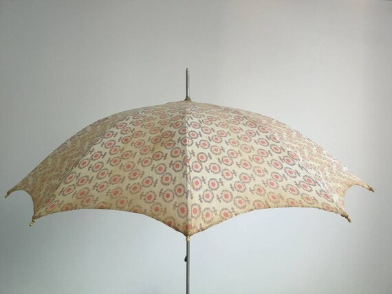 Vintage Woman Umbrella - Woman Parasol - Soviet Vi