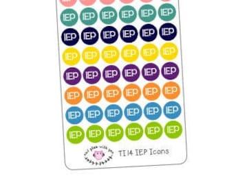 TI14 || 72 IEP Icon Stickers
