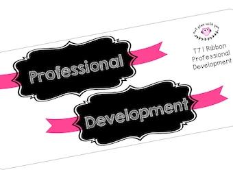 T71 || Ribbon Professional Development Full Day Stickers
