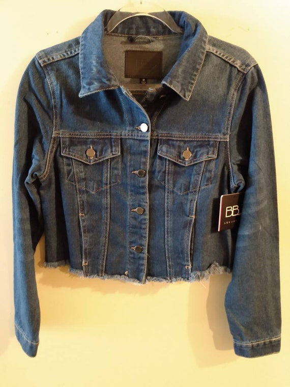 Denim  jacket Women's  Medium NEW @ SelenaBoutique