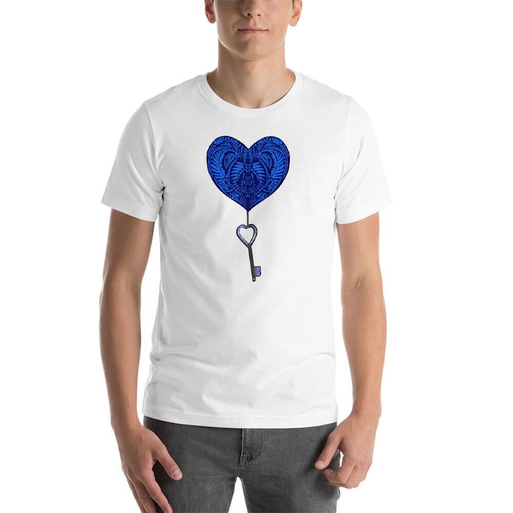 Tatouage De Coeur Tshort Sleeve Unisex T Shirt Tattoo Coeur