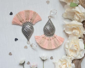 Earring moles ideal for the fashion earrings for women, Silver earrings (Silver) ideal
