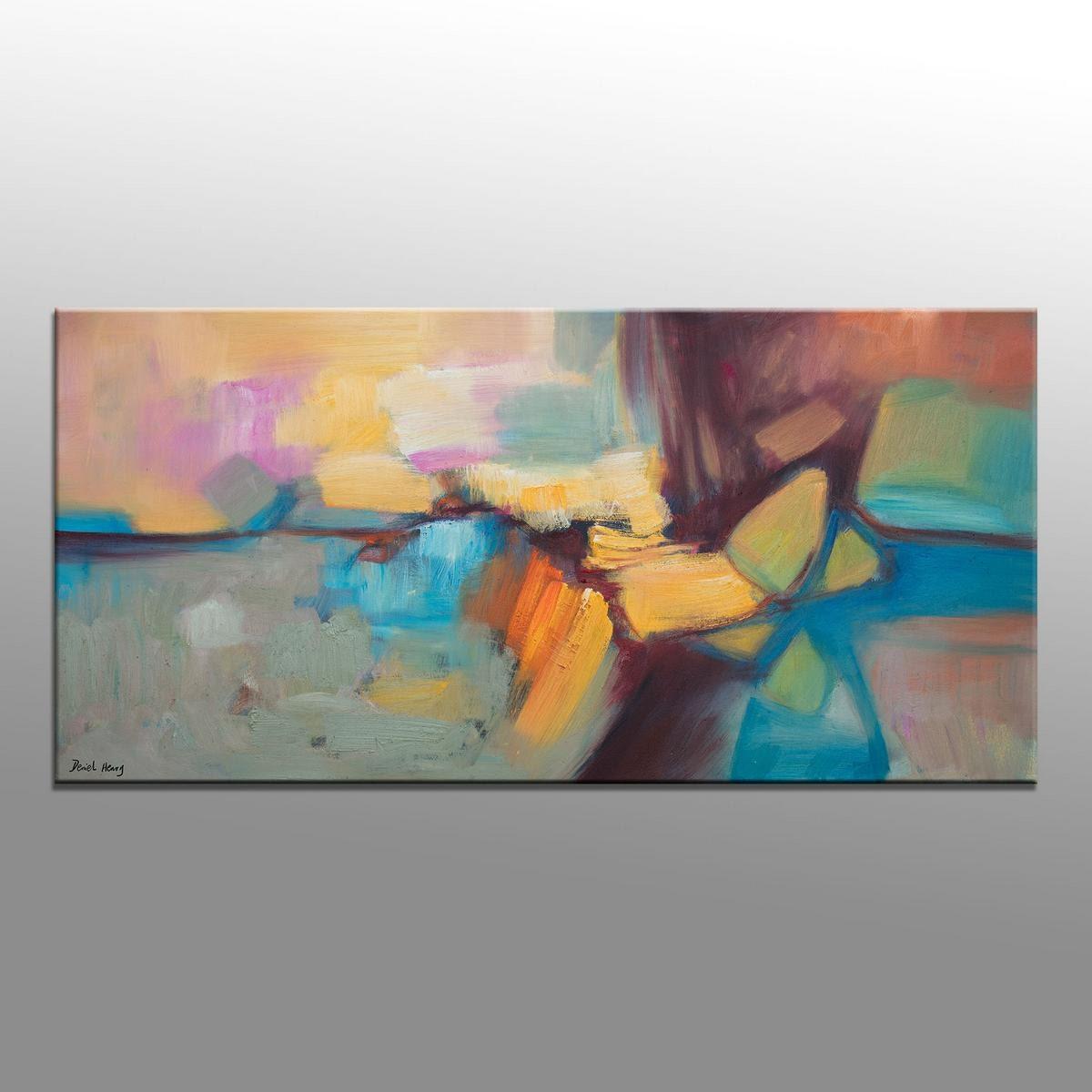 Abstract Painting, Abstract Wall Art, Contemporary Art, Original Oil  Painting, Large Oil Painting, Bathroom Art, Canvas Art, Modern Art