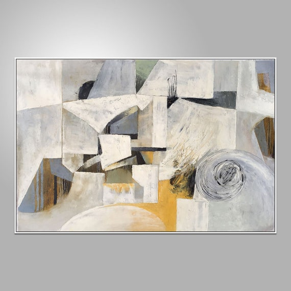 Abstract Canvas Painting Contemporary Painting Original Etsy