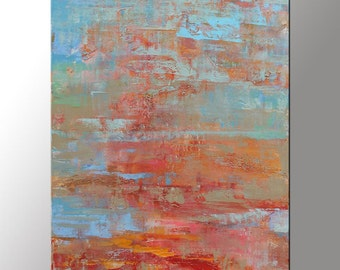Canvas Painting, Large Oil Painting, Bathroom Art, Rustic Wall Decor, Modern Art, Original Painting, Oil Painting Abstract, Abstract Art