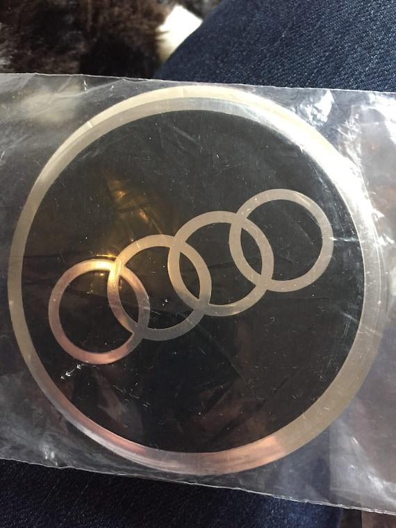 Set Von 4 Rad Mitte Mutze Autoaufkleber Audi Gewolbt Etsy