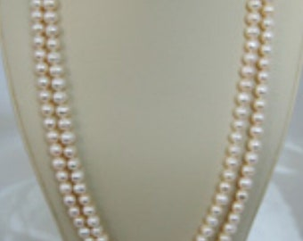 "8mm 50"" Cultured Freshwater Pearl Necklace"