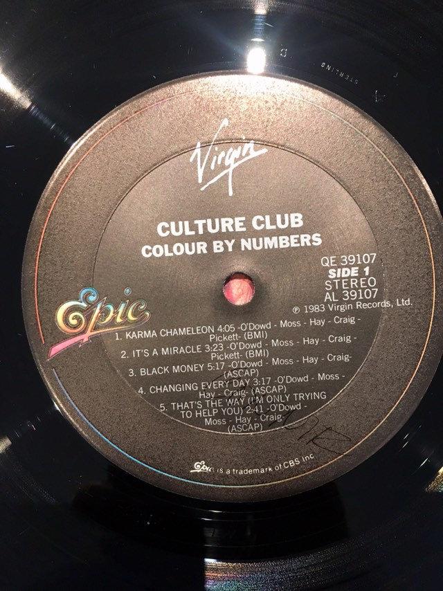 Vintage Culture Club Colour by Numbers vinyl album