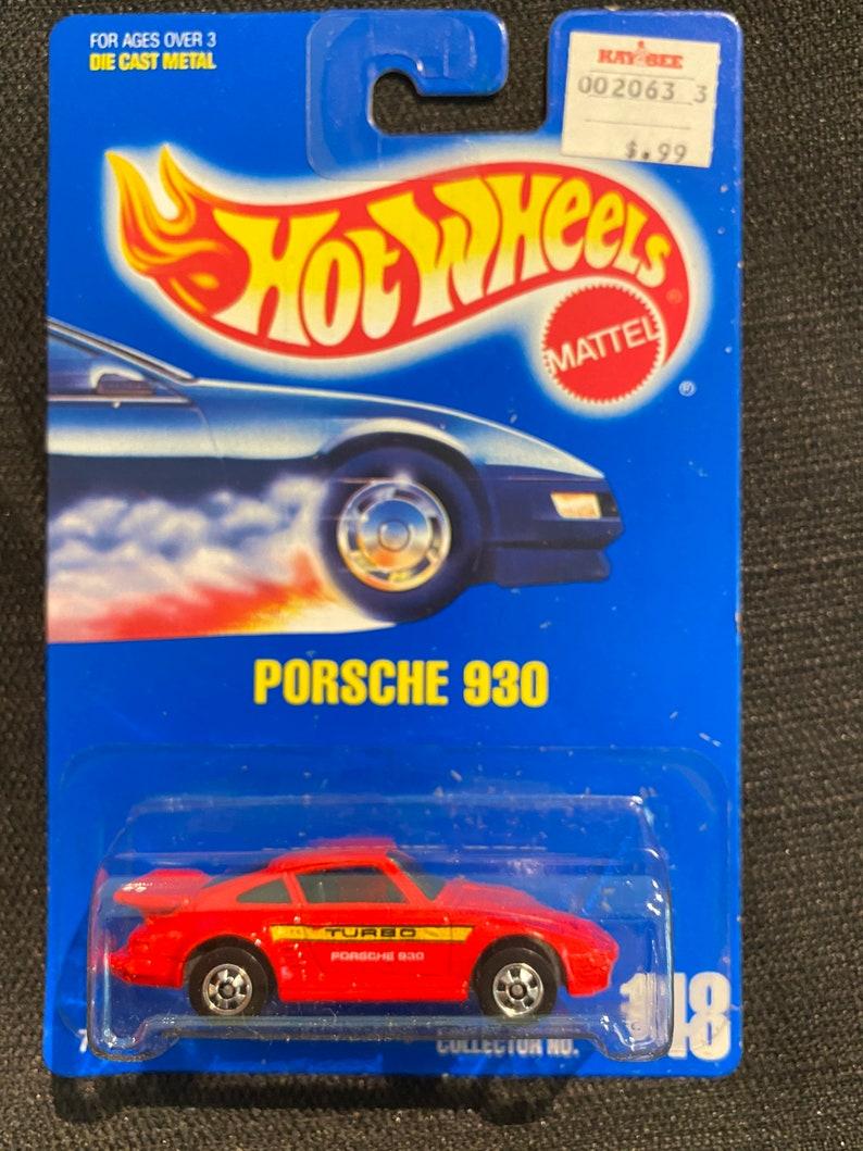 Ships Jan 2021 Vintage 1991 Hot Wheels Porsche 930 148 Etsy