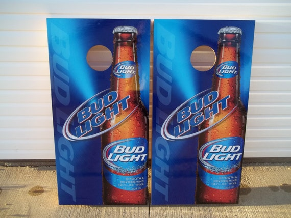 Strange Bud Light Beer Corn Hole Boards Bean Bag Toss Game With Score Plate Ocoug Best Dining Table And Chair Ideas Images Ocougorg