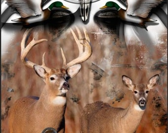 Whitetail Bow Hunting Corn Hole Boards - Bean Bag Toss Game
