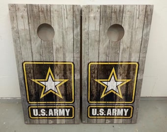 U.S. Army Corn Hole Boards - Bean Bag Toss Game