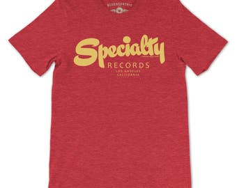 c5cfd1c00 Specialty Records T-Shirt - (Official) Vintage Style Lightweight