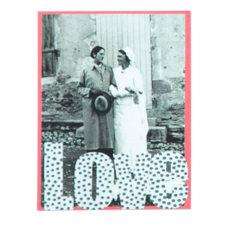 Valentines Day Love Card LGBT card  Lesbian Card image 0