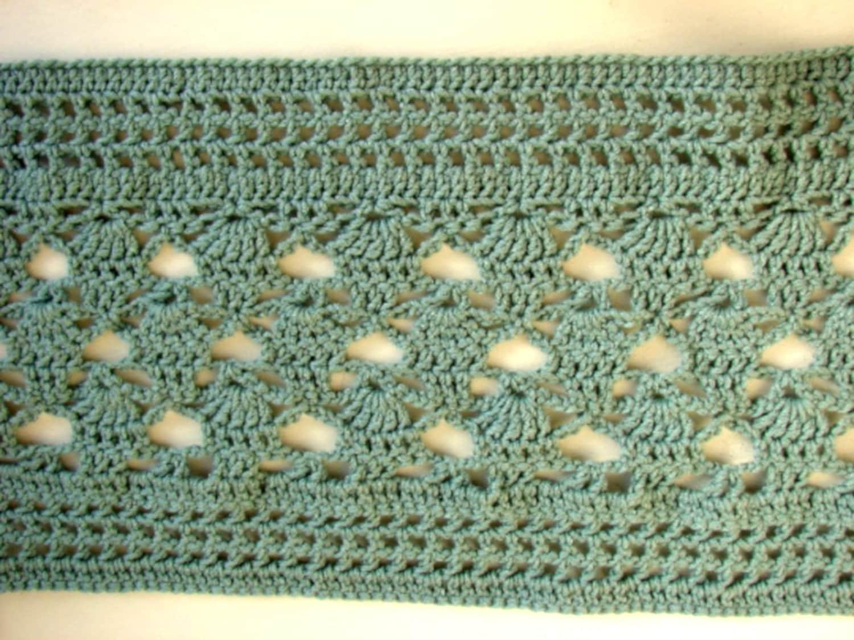 Haakpatroon Damessjaal Voor Herfst Luchtige Sjaal Voor Vrouw Etsy