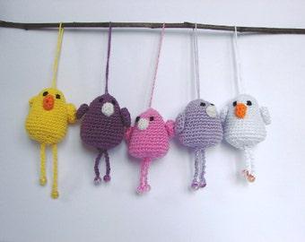 Crochet pattern bird   spring decor little bird   amigurumi animal   animal pattern   pattern plushy   crochet pattern amigurumi bird
