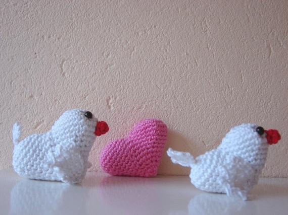 Liebe Vögel Häkelanleitung Amigurumi Vögel häkeln Muster | Etsy