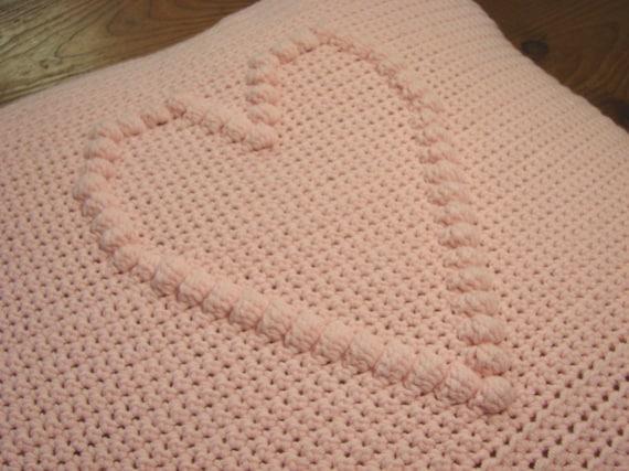 Häkeln Muster Herz Kissen Abdeckung häkeln Muster Kissen mit | Etsy