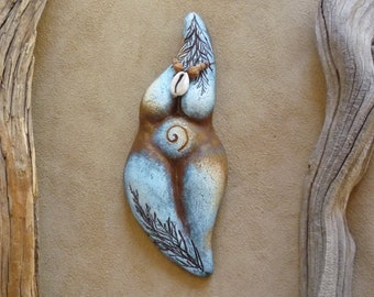Goddess statue ~ Shakti - Divine Feminine figurine, meditation tool, birth altar, women's circle