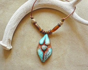 Shakti fertility goddess necklace + Sacred Feminine jewelry gift for midwife, doula + made in the USA + gift wrapped
