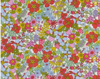 Liberty Art Fabrics Flower Tops A Tana Lawn