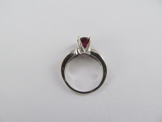 Vintage Ruby and Diamond Ring - image 4