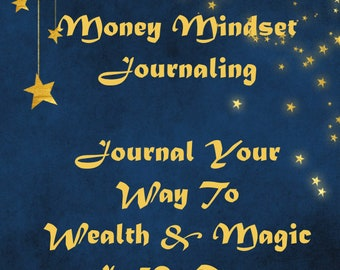 30 Money Mindset Journaling Questions, dreams, goals, manifest, journal, money mindset, journal questions, pdf, digital download,