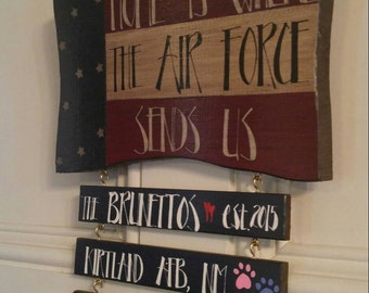 Home is Where The Army, Air Force, Coast Guard, Marine Corps, and Navy Sends Us!