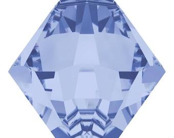 Swarovski Crystal - 6328 Bicone Top Drilled - Light Sapphire- 6mm, 8mm