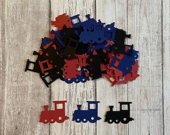 1 Table Scatter Train Theme Confetti 100 Train Confetti Pieces Train Party Table Confetti