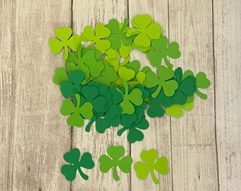 and Gold Shamrock St Patricks Day First Birthday One Confetti Green White