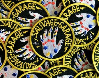 "Patch ""Sauvage Garage"""