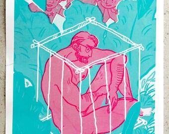 L'homme en cage - Sarah Ayadi