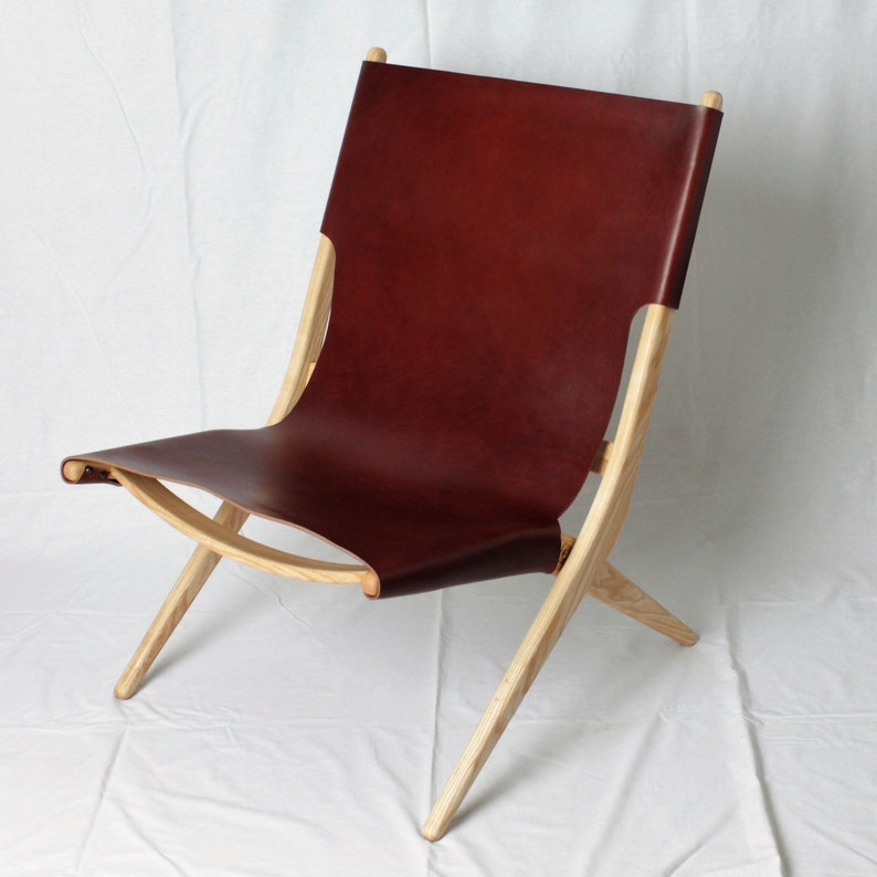 Miraculous Sling Chair Leather Chair Accent Chair Leather Sling Chair Folding Chair Ocoug Best Dining Table And Chair Ideas Images Ocougorg